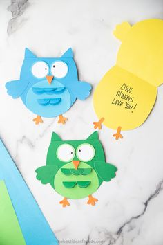 Owl Always Love you Owl Craft