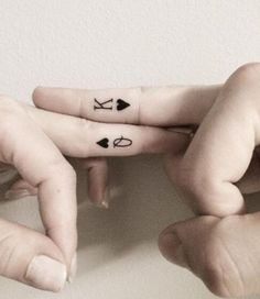 If you've been thinking about getting a tattoo, but are keen to opt for something subtle, then a delicate finger tattoo could be just for you.                                                                                                                                                     More