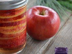 Canned Brandied Apples - Ball Canning