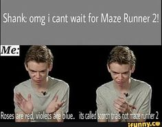 roses are red, violets are blue, newt will you please do the honors of marrying me