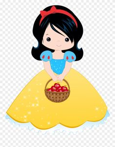 Disney Clipart, Cute Clipart, Cartoon Pics, Cute Cartoon, Snow White 7 Dwarfs, Snow White Birthday, Disney Princess Dresses, Cute Images, Disney Wallpaper