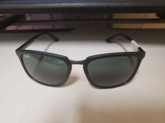 c235cd21ee0d AUTHENTIC RAY BAN SUNGLASSES RB4303 601s 71 57mm Matte Black  fashion   clothing  shoes  accessories  mensaccessories   sunglassessunglassesaccessories (ebay ...