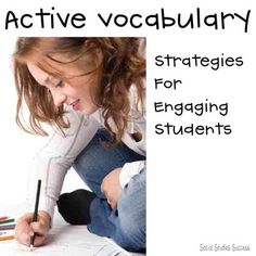 Are your students struggling with vocabulary word after vocabulary word? Have you discovered that copying the word and definition from the back of the book really doesn't work? These strategies are for you! You will receive 8 different vocabulary instructional strategies designed for upper elementary and secondary students.