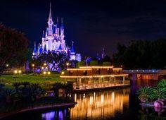 Disney Parks After Dark: Cinderella Castle At Sunset