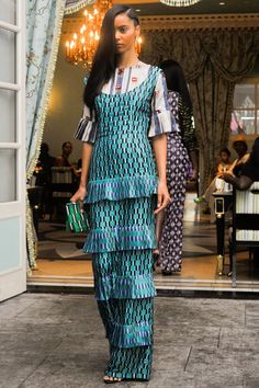 Pin for Later: Pretty in Prints: The Most Wow-Worthy Patterns to Hit the Runway Lisa Folawiyo Spring 2015