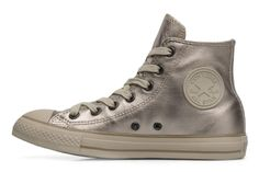 Chuck Taylor All Star Metal Leather Hi W Converse