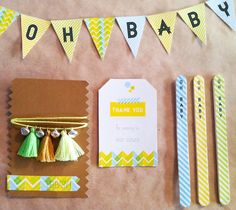 Decora una fiesta infantil con washi tape