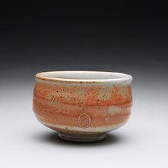 Stoneware chawan with layered shino glazes https://www.etsy.com/shop/rmoralespottery