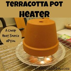 Emergency Preparedness Ideas: Terracotta Pot Heaters– easy to build and store. Emergency Preparedness Ideas: Terracotta Pot Heaters– easy to build and store. Emergency Preparedness Plan, Emergency Preparation, Emergency Supplies, Disaster Preparedness, Survival Prepping, Survival Skills, Survival Gear, Emergency Kits, Survival Shelter