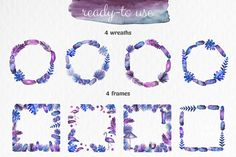 Tropical night - Watercolor by zzorna art on @creativemarket