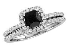 Black Gold Wedding Rings Diamond Engagement Bands Bridal Ring Sets Diamonds Bling Ali