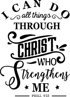 I Can Do All Things Through Christ Who Strengthens Me, I Can Do All Things Through Christ svg, Christian svg, Religious svg, Bible Verse svg Welcome to ArtEssential! INSTANT DOWNLOAD This is a Digital Product no physical product will be ship! The files can be used by most Silhouette and Cricut cutting machines among others. YOU WOULD RECEIVE ZIP FOLDER with - SVG file - For Cricut Explore, Silhouette Designer Edition, Adobe Suite, Inkspace, Corel Draw and more; - DXF file - For Silhouette users, Favorite Bible Verses, Bible Verses Quotes, Cricut Craft Room, Applique, Quotes About Motherhood, Wall Quotes, Christian Quotes, Inspirational Quotes, Words