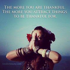 Always thankful, always blessed.