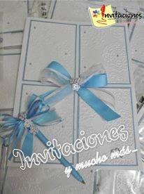 Libro de Firma para Bodas en Blanco perla y azul turquesa
