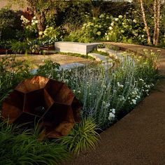 Photo of our garden for RHS Hampton Court Flower Show 2015