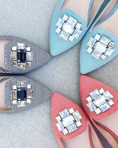This bestselling bejeweled flat elevates any spring ensemble!