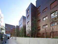 Housing in Aubervilliers - Colboc Franzen Associés