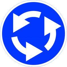 """Предписывающий дорожный знак """"Круговое движение"""" указывает, что движение разрешено только в указанном стрелками направлении. Данный дорожный знак имеет важное значение на дороге. Дорожный знак """"Круговое движение"""" устанавливают на участках с кольцевым движением. Заказать предписывающий дорожный знак """"Круговое движение"""" можно как оптом так и в розницу, в зависимости от ваших финансов. Поставщик предписывающего дорожного знака """"Круговое движение""""- это Магазин Охраны Труда OhranaTruda21.ru."""