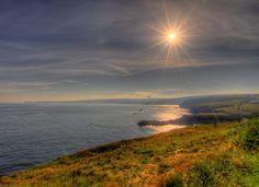 Port Isaac towards Tintagel, England  Visit www.exploreutkravel.co.uk for holidays in England