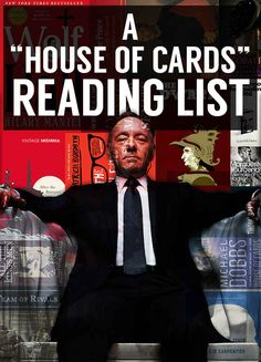 """23 Books Every Fan Of """"House Of Cards"""" Should Read"""