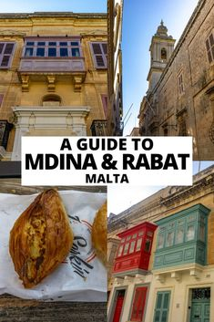 A complete guide to what to see in Mdina and Rabat, Malta including things to do, where to eat and places to stay. Malta Mdina, Walking Routes, Beach Trip, Beach Travel, Okinawa Japan, Chicago Restaurants, Charleston Sc, Walking Tour, Foodie Travel