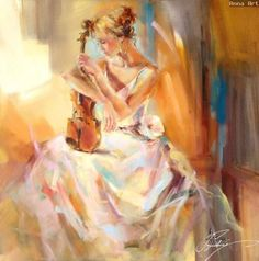 "Musical fine art at Art Leaders Gallery: ""White Note III"" by Russian artist Anna Razumovskaya. Discover more affordable fine art, sculptures, hand blown glass, art gifts, and custom framing. artleaders.com 