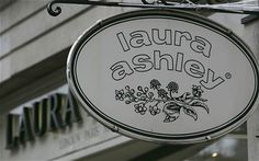 Laura Ashley..the stuff of dreams. I would go into that store and just dream all the way through it.