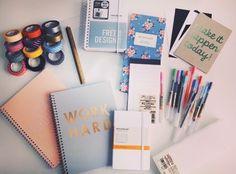 Work hard / studying