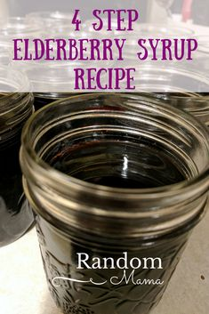 """Elderberry syrup, known for it's many benefits,this natural flu fighter, is easy to make. Check out this easy Step Elderberry Syrup"""" video tutorial. Herbal Tinctures, Herbalism, How To Make Syrup, Making Herbal Tea, Stop Eating Sugar, Salve Recipes, Elderberry Syrup, Herbal Remedies, Natural Remedies"""