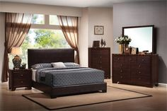 Coaster Conner 4pc Bedroom Collection Las Vegas Furniture Online | LasVegasFurnitureOnline | Lasvegasfurnitureonline.com