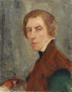 Maria Wiik - Self portrait at the age of 64