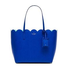 kate spade new york Carrigan Tote Bags (5,020 MXN) ❤ liked on Polyvore featuring bags, handbags, tote bags, purses, kate spade handbag, tote, accessories handbags and blue handbags
