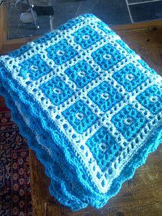 Ravelry: minidoe's interlocking crochet baby blanket