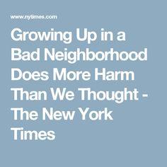 Growing Up In A Bad Neighborhood Does More Harm Than We >> 19 Best Equity Videos Images In 2018 Sociology Black Black Men