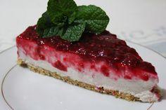 Cheesecake de framboesa - http://gostinhos.com/cheesecake-de-framboesa/