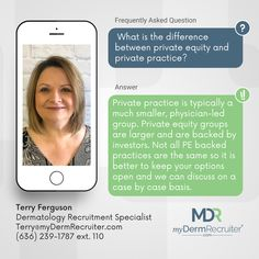 We work with Dermatology practices across the country, so we are able to give you insight on who is private practice and private equity. Our team works together to ensure that all of our recruiters have up-to-date information about the clients we work with so we can provide the best information to you during your job search. 📞 Call 636-239-1787 ext 110 📧 Email Terry@myDermRecruiter.com #Dermatology #DermatologyRecruiters #JobsInDerm #ExpertsInDermatology #DermJobs Private Practice, Job Search, Insight, This Or That Questions, Good Things, Country, Rural Area, Country Music