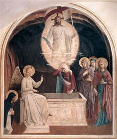 Resurrection of Christ and Women at the Tomb  - Fra Angelico
