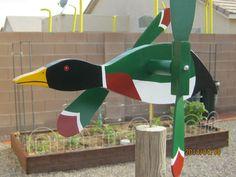 Duck Whirligig Whirlygig - L Duck Dynasty- Windmill