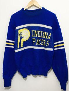 Indiana Pacers Vintage CLIFF ENGLE Knit Sweater crewneck Men Sz M fa7d80a0a