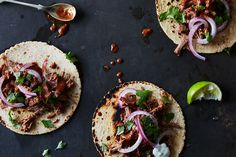 Braised Pork in Lazy Cherry Ancho Mole recipe on Food52