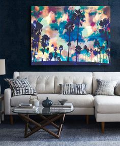 Decorating Small Spaces - Living Room - The Life Creative