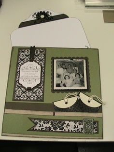 Page 1 of Terry Diack's family album using For Always paper.gotta luv it. Scrapbooking Layouts, Scrapbook Cards, Family Album, Close To My Heart, New Product, Diy Projects, Paper Crafts, Crafty, Creative