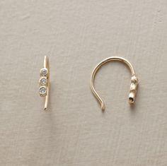 Shop Zsa Zsa Bellagio: SCINTILLA DIAMOND EARRINGS