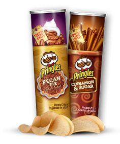 Pringles - Cinnamon & Sugar or Pecan Pie! YUM!