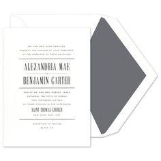 Merriment Invitations - Crane & Co. (#115425) | FineStationery.com