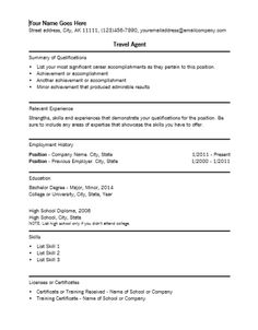 Microsoft Word Resume Template Download  HttpResumesdesignCom