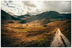 MOUNTAIN PATH  Glen Affric Scotland Landscape by TheLittleSquares