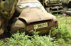 Junkyard Bastnas Sweden, saabrobz, via Flickr