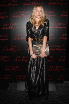 """Dree Hemingway Photos - Dree Hemingway attends Salvatore Ferragamo's """"Attimo"""" fragrance launch party at The Standard on June 2010 in New York City. Dree Hemingway, Androgyny, Her Style, Salvatore Ferragamo, Style Icons, Leather Skirt, Celebrity Style, Sequin Skirt"""
