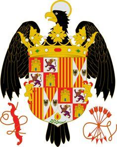 Escudo de armas de los reyes Católicos - Isabel I de Castilla - Wikipedia, la enciclopedia libre